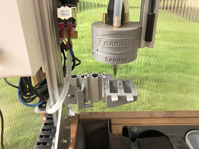 Seed trough modification