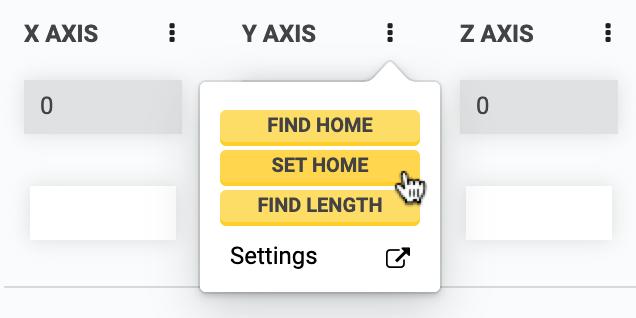 Single Axis Controls
